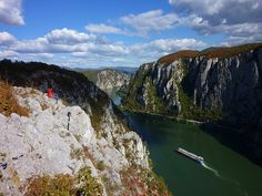 Iron Gates Natural Park, Gorge, Danube, Romania