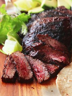 The best carne asada a good marinade is the easiest way to improve your gri Dinner Recipes For Kids, Healthy Dinner Recipes, Mexican Food Recipes, Healthy Snacks, Mexican Dishes, Grilling Recipes, Beef Recipes, Cooking Recipes, Carnitas