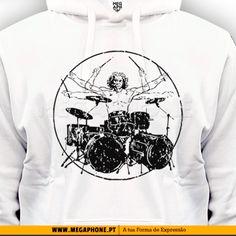 Davinci Drummer shirt baterista