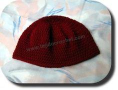 Gorros de lana en tejido crochet (ganchillo)