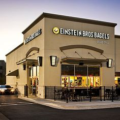 The Healthiest Fast Food Breakfasts: Einstein Bros: Nova Lox & Bagel Sandwich on a Whole Wheat Thin Bagel with Whipped Light Cream Cheese Schmear-313 calories