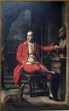 Thomas Estcourt, Esquire,1772, (born 7 October 1748 and died 2 December 1818. He was MP for Cricklade from 1790 to 1806) by Pompeo Batoni | John Hay Library, Brown University  Pompeo Batoni -