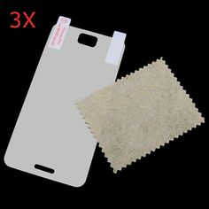 3 X Crystal Clear Screen Protector Film Guard Case For JIAYU JY G2