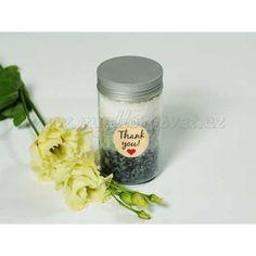 Sada na výrobu koupelové soli Mason Jars, Mason Jar, Glass Jars, Jars