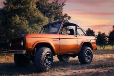 1968 Bronco in Orange