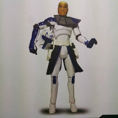 """Believe It Or Not This Was The Height Of Articulated 3.75"""" Star Wars.  #forcefridaycountdown #clonewars #captainrex #FLYGUY"""