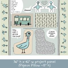 Mo Willems - Dont Let the Pigeon Drive the Bus - Project Panel in Multi