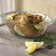 Miracle Chicken... the dish this is cooked in is from Princess House and is my favorite item they sell! The recipe itself is fantastic and can also be done in the oven without the Miracle Chicken Dish