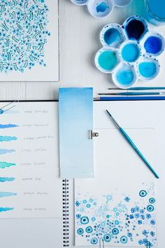 So pretty!  make some thank you cards or something with water colors!