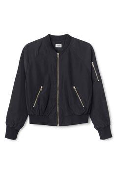 Marigold bomber jacket