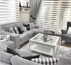 Grey and white living room grey lovers decorative pillows cushions living room decor living room grey . grey and white living room Living Room Grey, Small Living Rooms, Home Living Room, Apartment Living, Interior Design Living Room, Living Room Designs, Grey Living Room Curtains, Design Bedroom, Wall Design