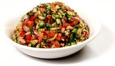 סלט ישראלי | סלט ערבי |Arab salad Israeli salad |