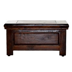 Coffee table - Dark Antique Plymouth Chest (Large)