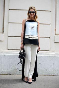 Trouser - Street Style.