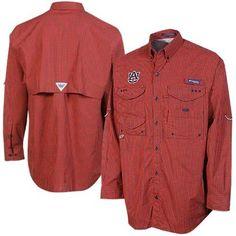 Columbia Auburn Tigers Gingham Super Bonehead Long Sleeve Button-Down T-Shirt – Navy Blue/Orange https://saffordsportinggoods.com/shop/clothing/columbia-auburn-tigers-gingham-super-bonehead-long-sleeve-button-t-shirt-navy-blueorange/