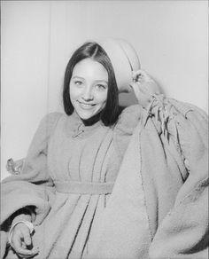 Vintage photo of Olivia Hussey smiling. -
