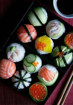 Ayer hicimos sushi y salió riquísimo sushi club quien te conoceeeeee