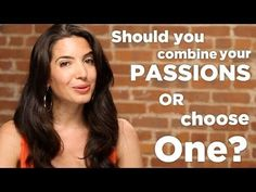 Press play if you've ever wondered whether you should combine your many passions or choose one. The answer might surprise you! For more spot-on advice, come to www.marieforleo.com.