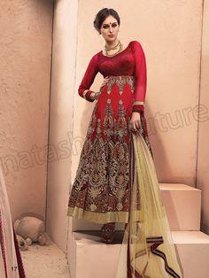 #Designer Salwar Kameez#Red Velvet #Indian Wear#Desi Fashion #Natasha Couture#Indian Ethnic Wear#Indian Suit#Anarkalis