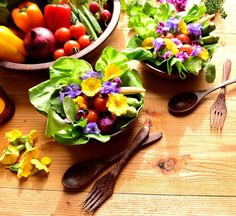 edible flowers - the how-to's about growing and harvesting them