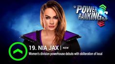 After a dominating display on WWE Raw, Nia Jax makes her WWE Power Rankings debut!