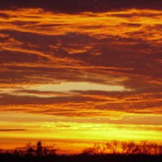 Lovely Texas sunsets- better here than anywhere.
