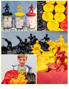 De creazusjes: Verjaardagstraktatie in WK-voetbal thema natuurlijk! This os for world soccer theme but could use any doll to glue on top and any color! Soccer Theme, Soccer Party, Party Treats, Party Favors, Kids Meals, Party Time, Projects To Try, Birthday Parties, Gifts
