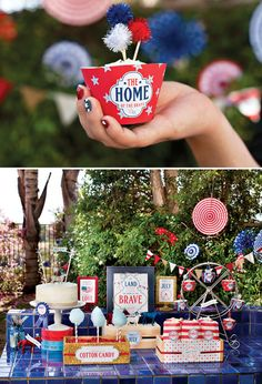 All-American County Fair Inspired Party | 25 Ways To Have The Most Patriotic 4th Of July Party | Best 4th of July Party Ideas & Recipes | Independence Day | diyready.com
