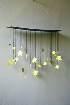 20 Marvelous DIY Wind Chimes - List of the most creative DIY and Crafts Diy And Crafts, Crafts For Kids, Arts And Crafts, Paper Crafts, Noel Christmas, Christmas Crafts, Xmas, Carillons Diy, Easy Diy