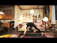 Core Strength & Hip Opening Warrior Flow | Sadie Nardini 15m.