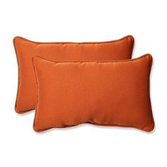 pillow perfect indoor outdoor cinnabar squared chair cushion burnt