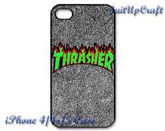Thrasher Skate Magazine Vintage iPhone 5 Case by SuitUpCraft, $14.99