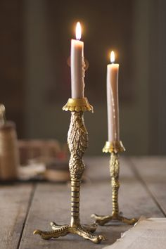 eagle leg candle stands