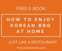 How to Enjoy Korean BBQ at Home, Just Like a Restaurant