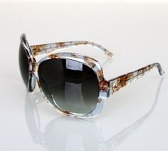 """Gucci """"1973"""" Floral Oversized Sunglasses GG3581/S WV35M W/Box NEW Authentic. Get the lowest price on Gucci """"1973"""" Floral Oversized Sunglasses GG3581/S WV35M W/Box NEW Authentic and other fabulous designer clothing and accessories! Shop Tradesy now"""