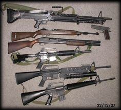 Weapons used during Viet Nam war by our soldiers