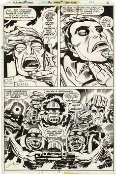Machine Man # 2 - Jack Kirby