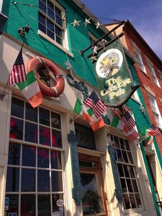 The Cat's Eye Pub, Fells Point, Baltimore.