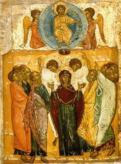 Оценить, продать старинную икону Вознесение Господне в Петербурге, Твери, Воронеже