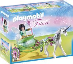 5446 Playmobil Fee met Eenhoornkoets