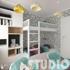 pokój dziecinny-dwupietrowe łóżko - zdjęcie od MIKOŁAJSKAstudio - Pokój dziecka - Styl Nowoczesny - MIKOŁAJSKAstudio