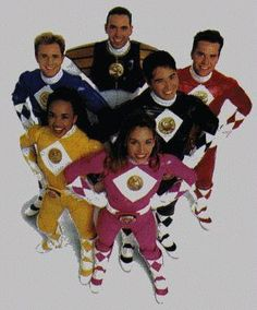 Which Power Ranger group do/did you like the most? Power Rangers Film, Original Power Rangers, Go Go Power Rangers, Mmpr Movie, Jason David Frank, Amy Jo Johnson, Naruto Sage, Typical Girl, Childhood Movies