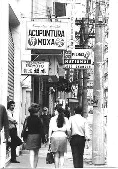 Liberdade (japanese neighborhood)  Sao Paulo Brazil - 1972