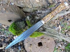 Ancient European Swords    Today's featured blade is by Petr Florianek. It is a ninth century saxon seax with patterwelded blade and a handle in boxwood carved in trewhiddle style. The cap is a silver engraved cap. To see more of Petr's work, please visit the Gullinbursti fb page at: https://www.facebook.com/pages/Gullinbursti/195065500531911?fref=ts