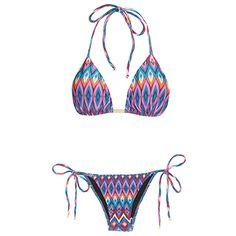 TRIYA - Biquíni cortininha Triya Verano - roxo Bikini Set, Bikini Swimwear, Summer Bikinis, Beach Day, Juicy Couture, Cool Girl, String Bikinis, Bathing Suits, Summer Outfits