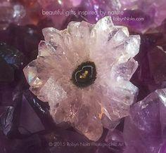 Beautiful Amethyst Crystal Flower #crystals