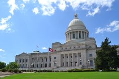The state Capital - Little Rock, AR