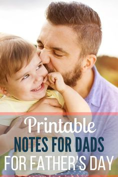 Use these free printable notes for dads to remind dad how special he is this Father's Day and all year long. Leaving notes for Dad is fun for everyone. Diy Father's Day Crafts, Father's Day Diy, Homemade Fathers Day Gifts, Fathers Day Crafts, Parenting Goals, Parenting Memes, Printable Cards, Free Printables, Baby Massage