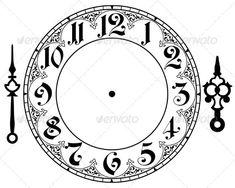 17 best ideas about Clock Face Printable on Pinterest   Clock ...