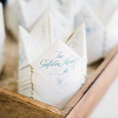 Wedding programs | Charleston Wedding Guide | Charleston SC | Explore Charleston